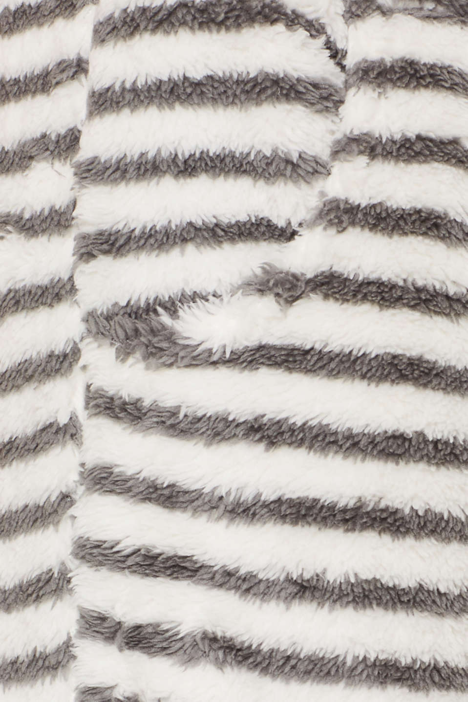 Plush trousers with stripes, OFF WHITE, detail image number 4