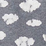 Jersey kimono with print, NAVY, swatch