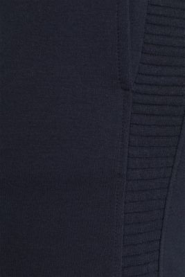 Tracksuit bottoms with ribbed details