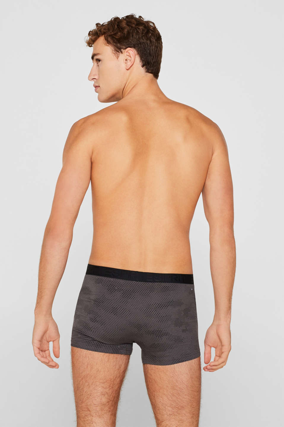 Retro shorts in a triple pack, BLACK, detail image number 1