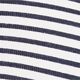 Soft padded bra with a stripe print, NAVY, swatch