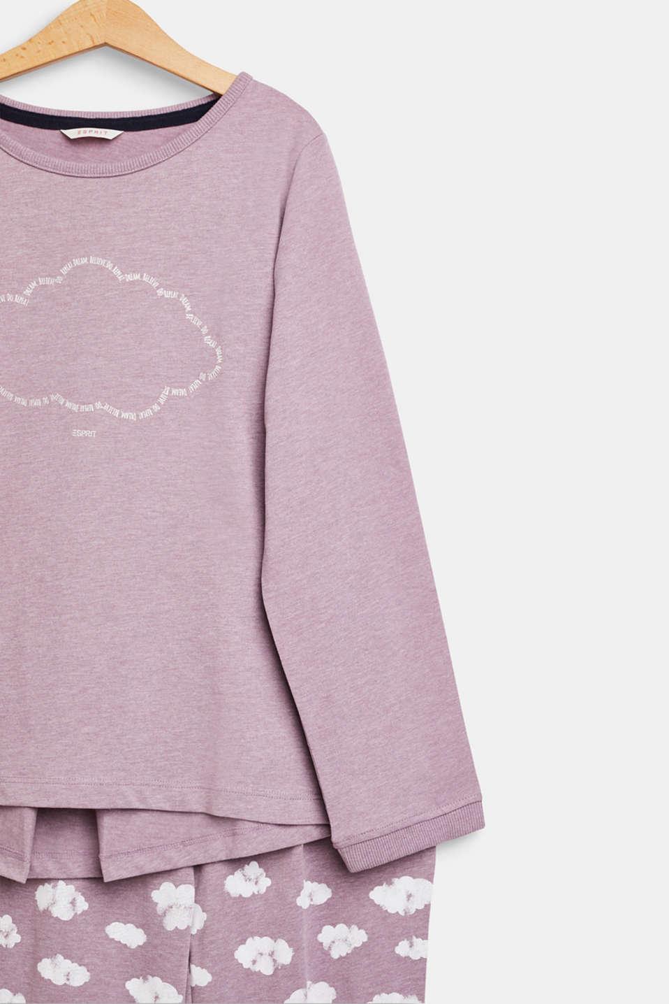 Pyjamas, MAUVE, detail image number 2