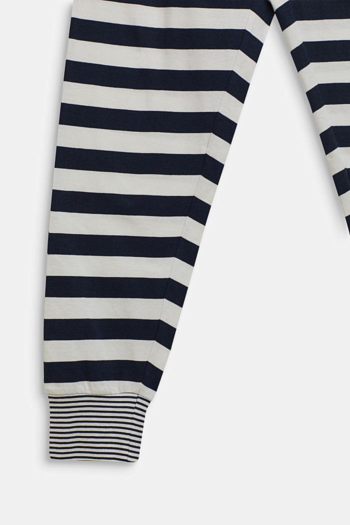 Pyjama met strepen, NAVY, detail image number 3