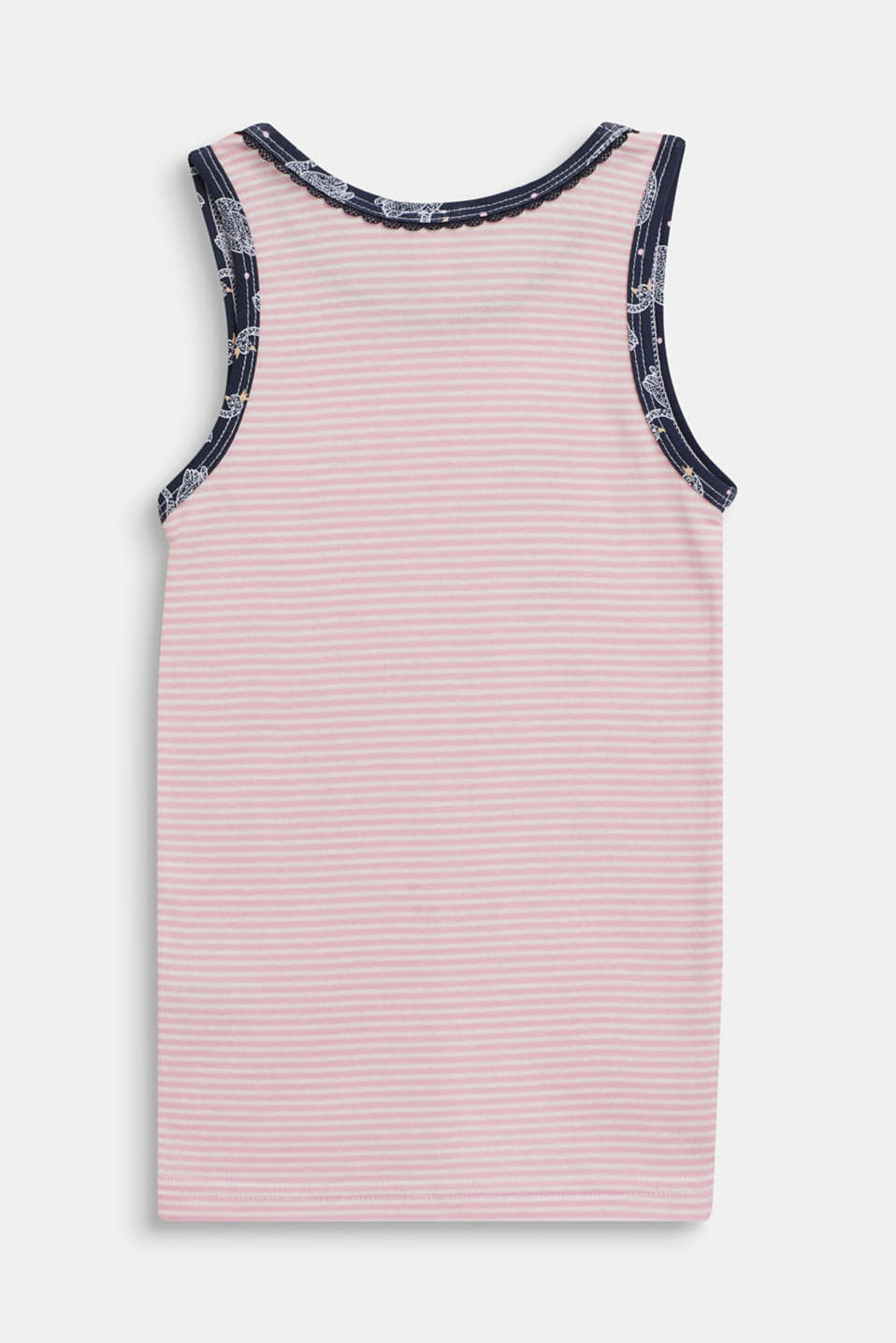 Vest made of 100% cotton, OLD PINK, detail image number 1