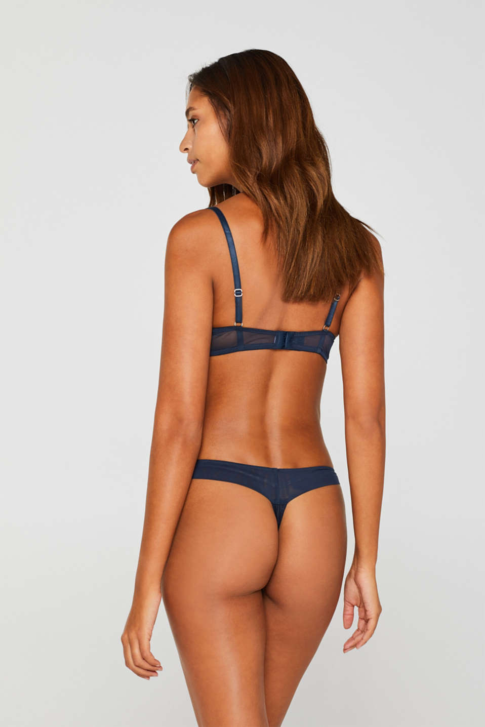 Bottoms, NAVY, detail image number 2
