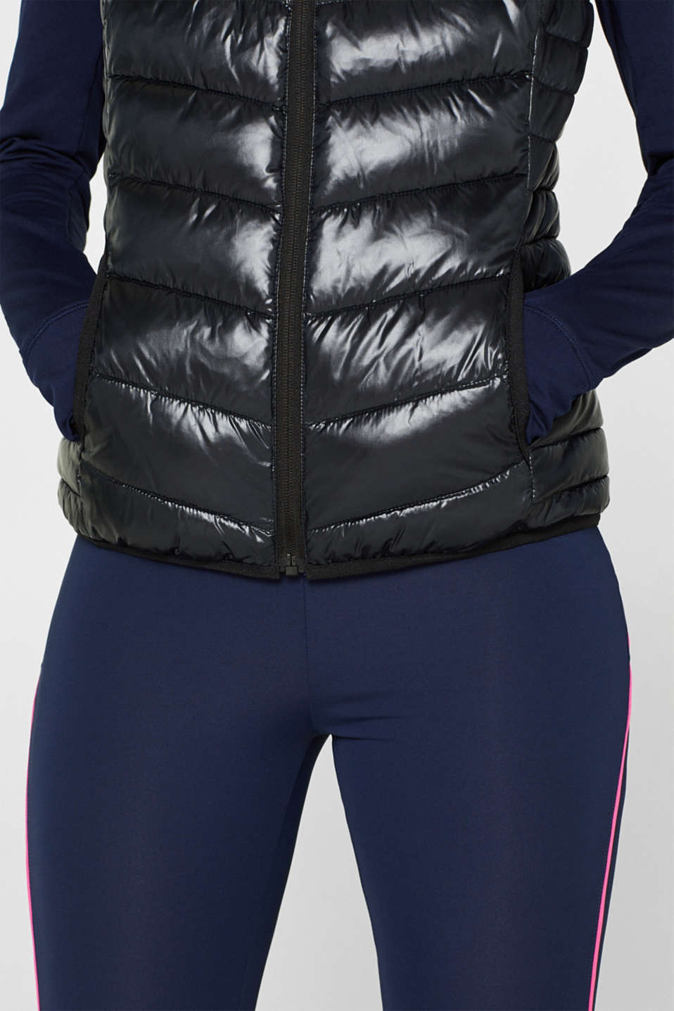 Body warmer with 3M™ Thinsulate™ filling, BLACK, detail image number 2
