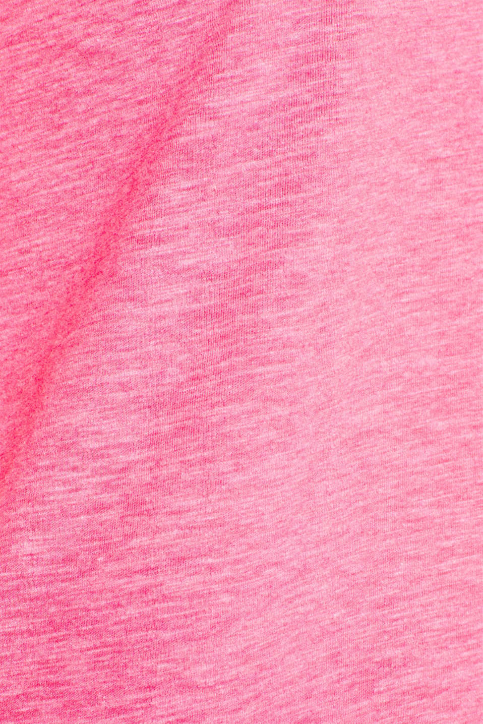 T-Shirts, PINK FUCHSIA 2, detail image number 4