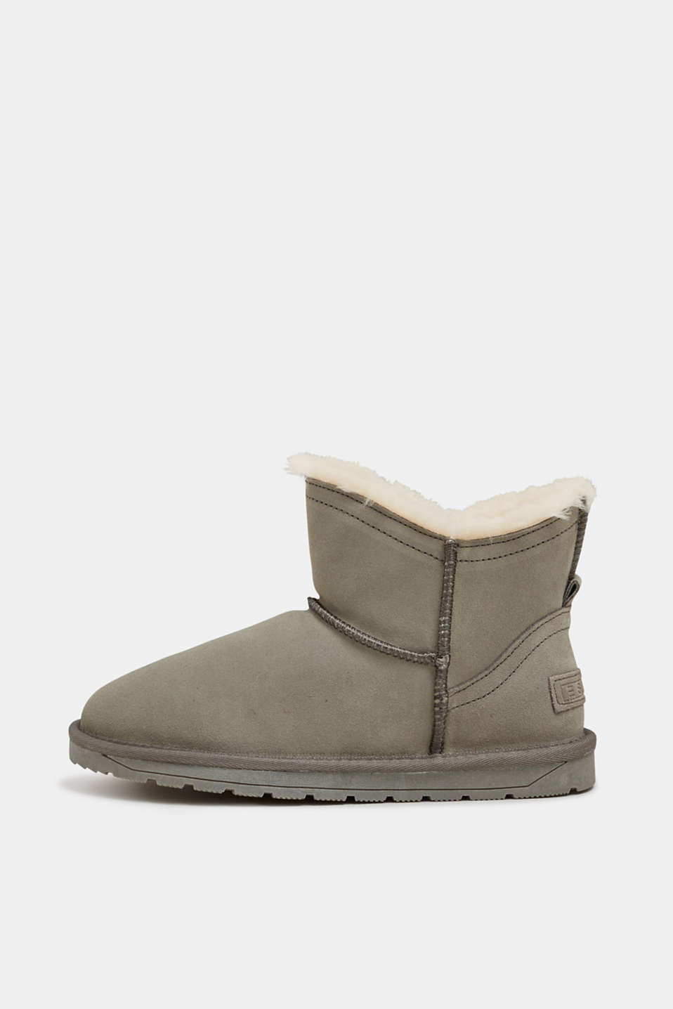 Esprit - Winter-Booties aus Leder