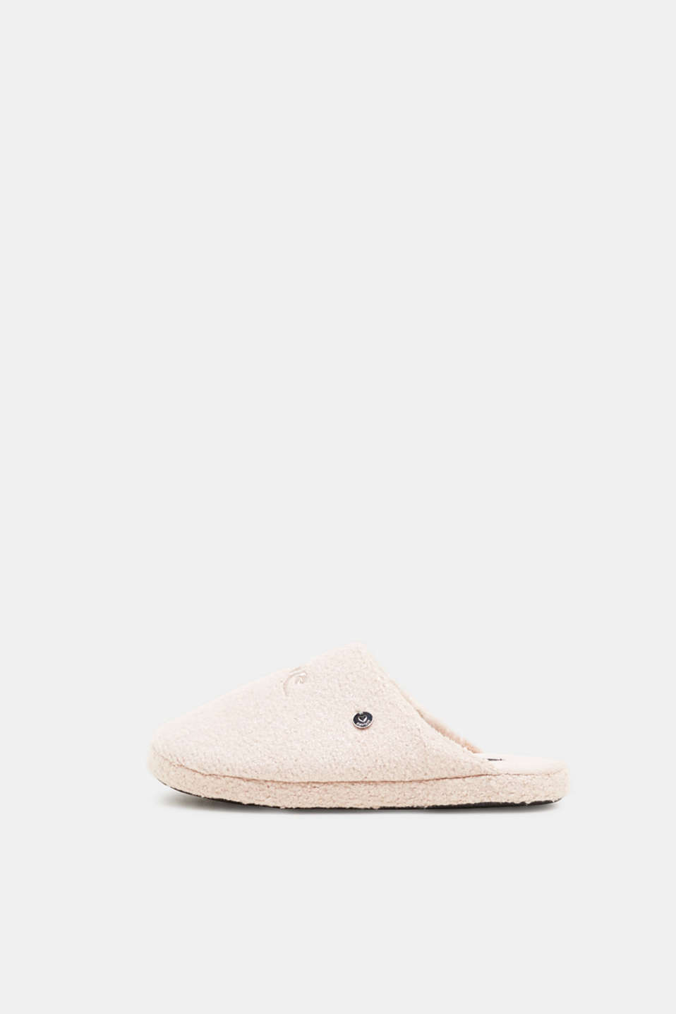 Esprit - Slippers with stitching