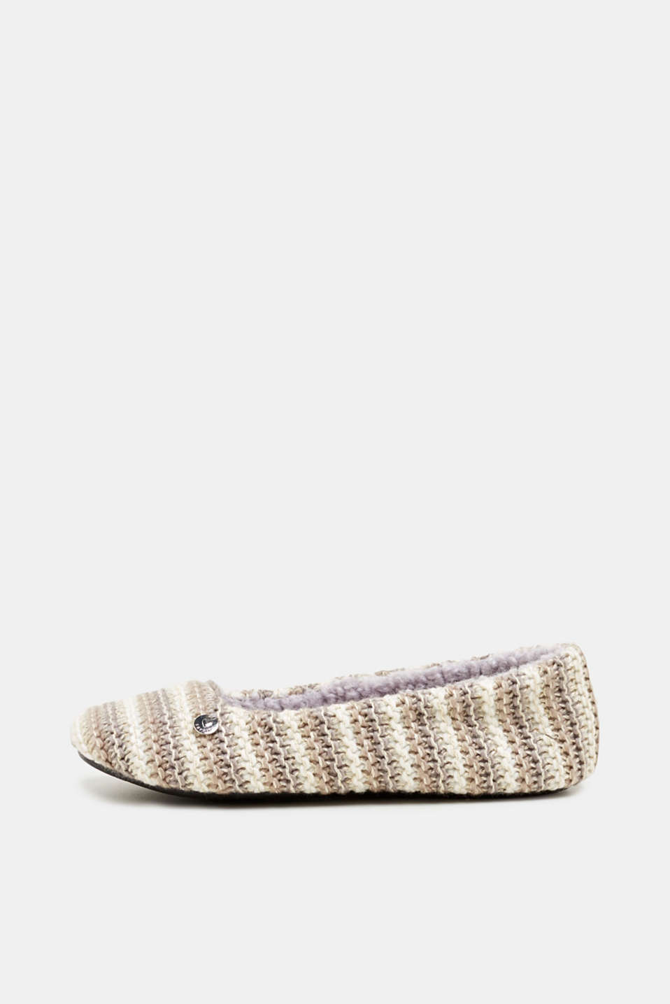 Esprit - Slip-ons made of a chunky knit