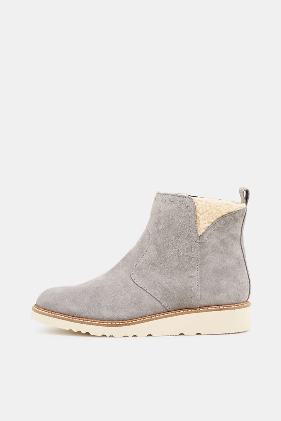 Esprit - Winter-Boots mit Futter in Shearling-Optik
