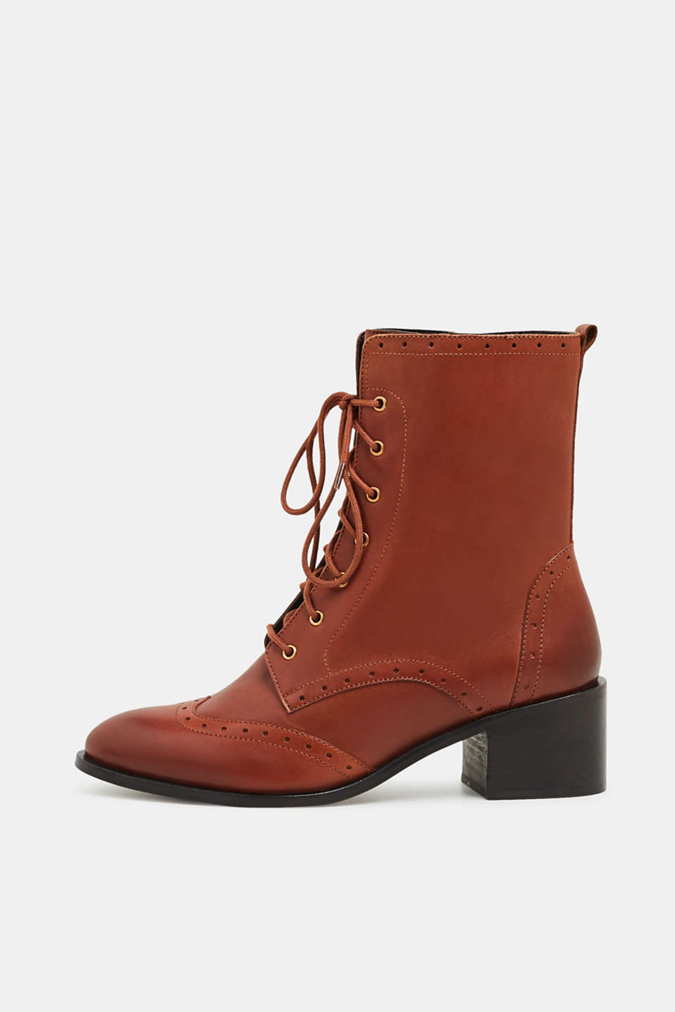 Formal Shoes leather, CARAMEL, detail image number 0
