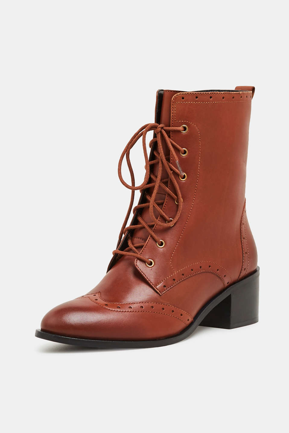 Formal Shoes leather, CARAMEL, detail image number 1