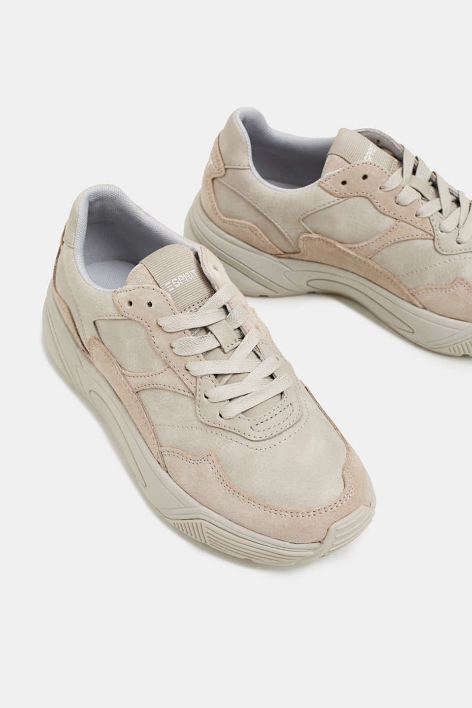 Casual Shoes leather, PASTEL GREY, detail image number 4