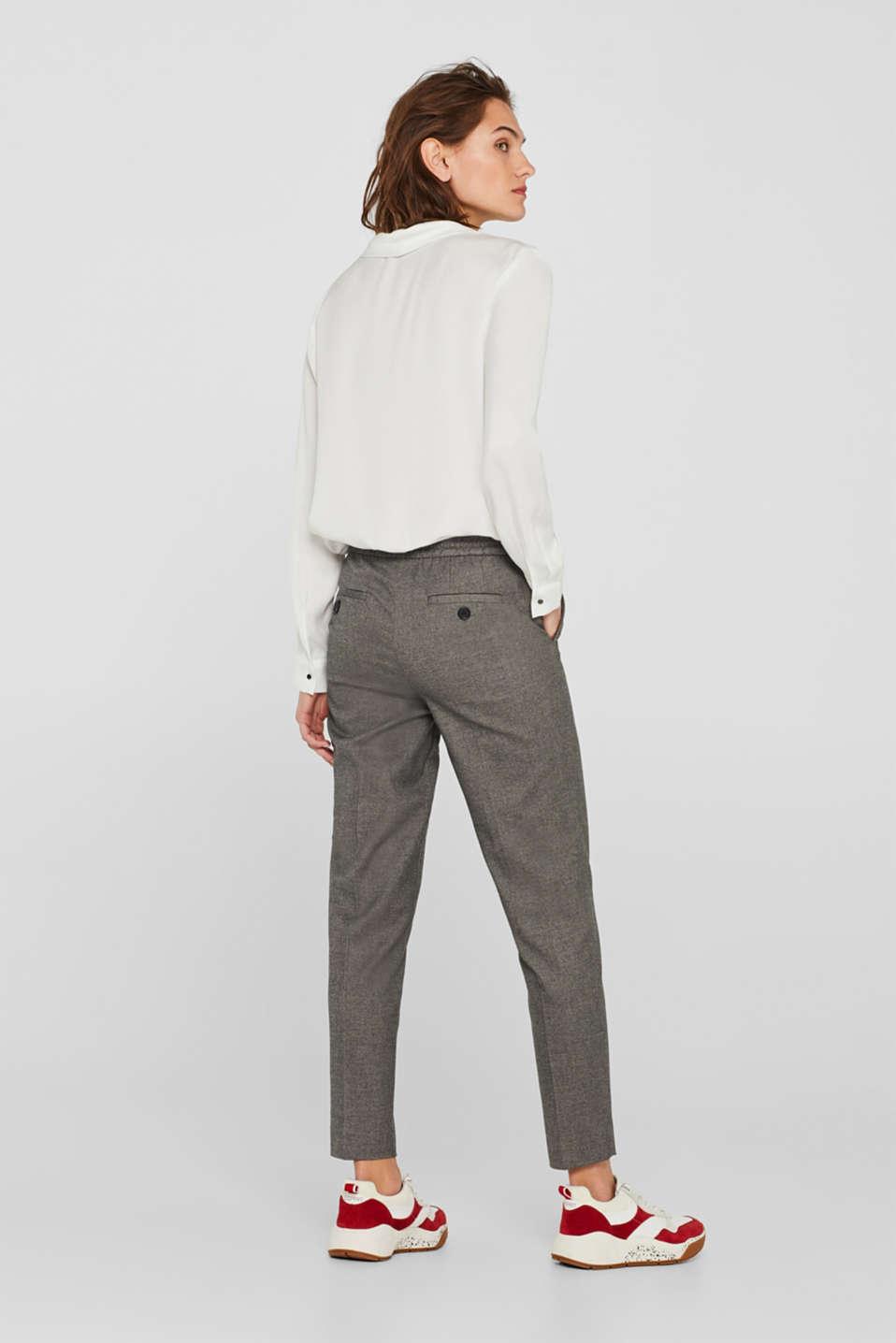 Pants woven, GUNMETAL 5, detail image number 3