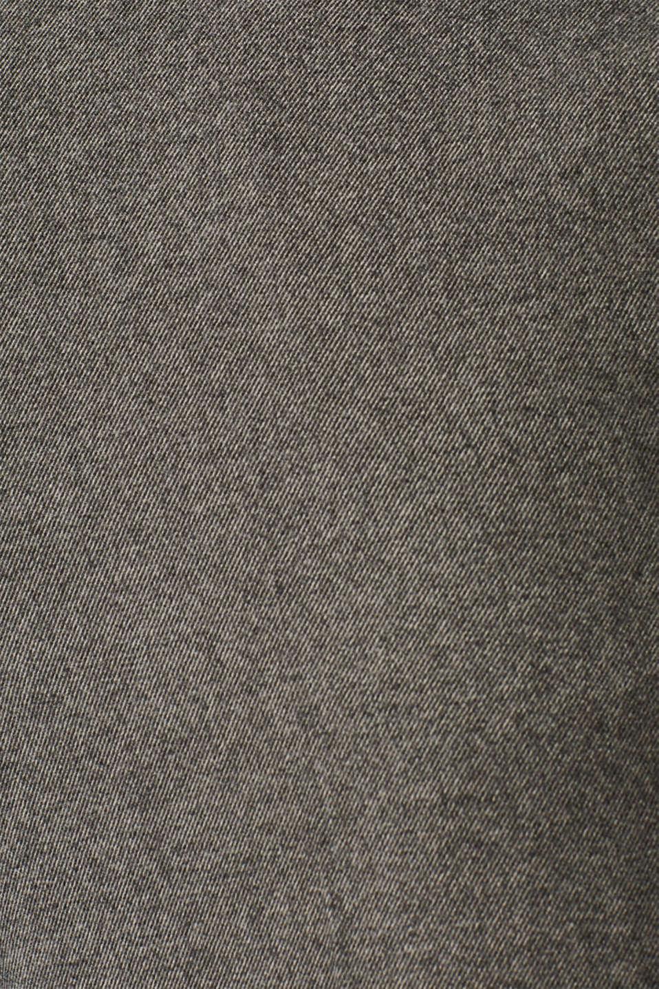 Pants woven, GUNMETAL 5, detail image number 4