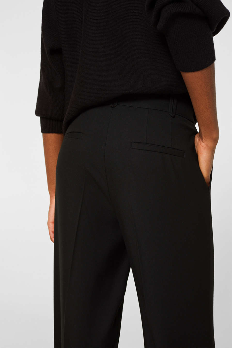 Pants woven, BLACK, detail image number 2