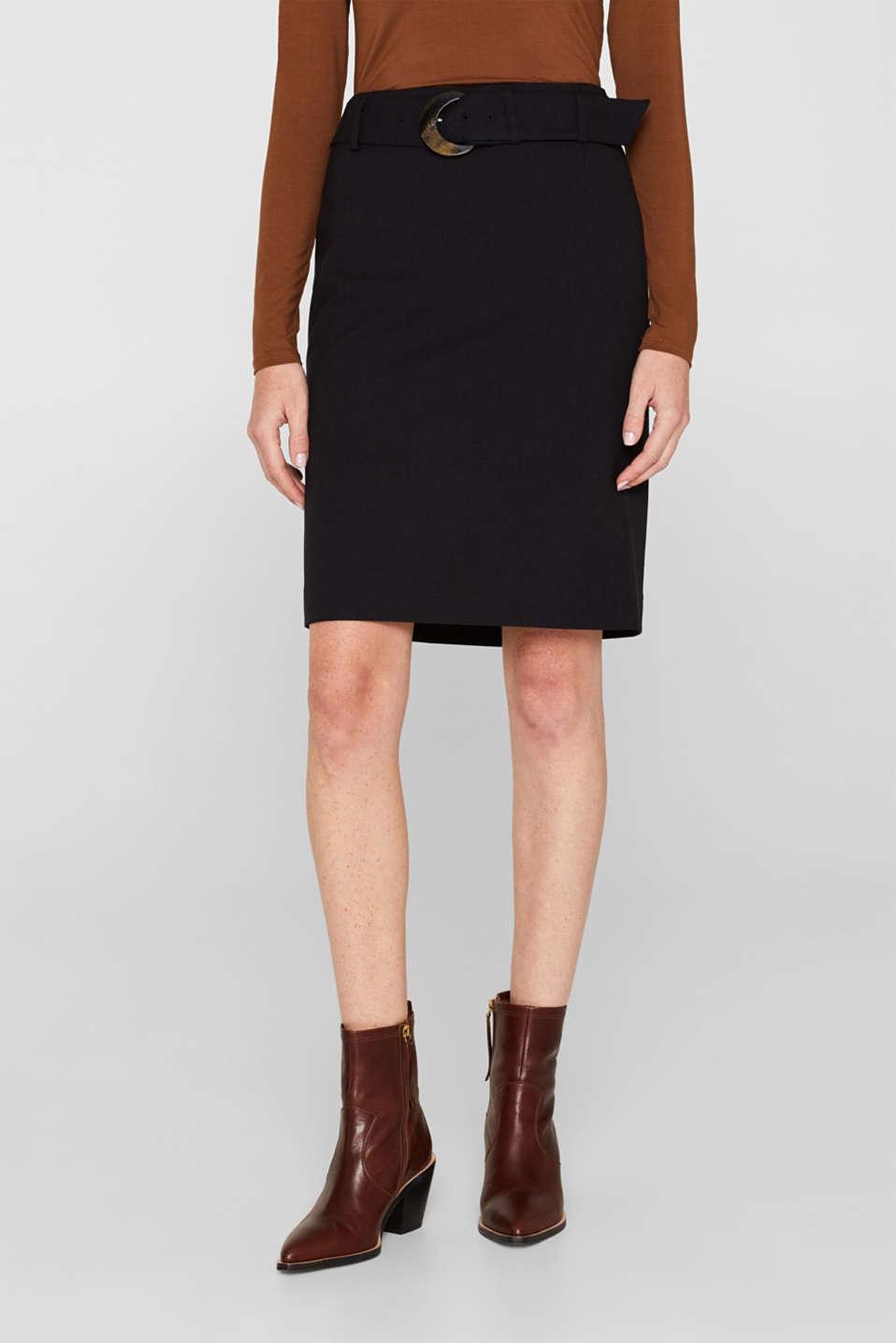 Fashion Skirt, BLACK, detail image number 5