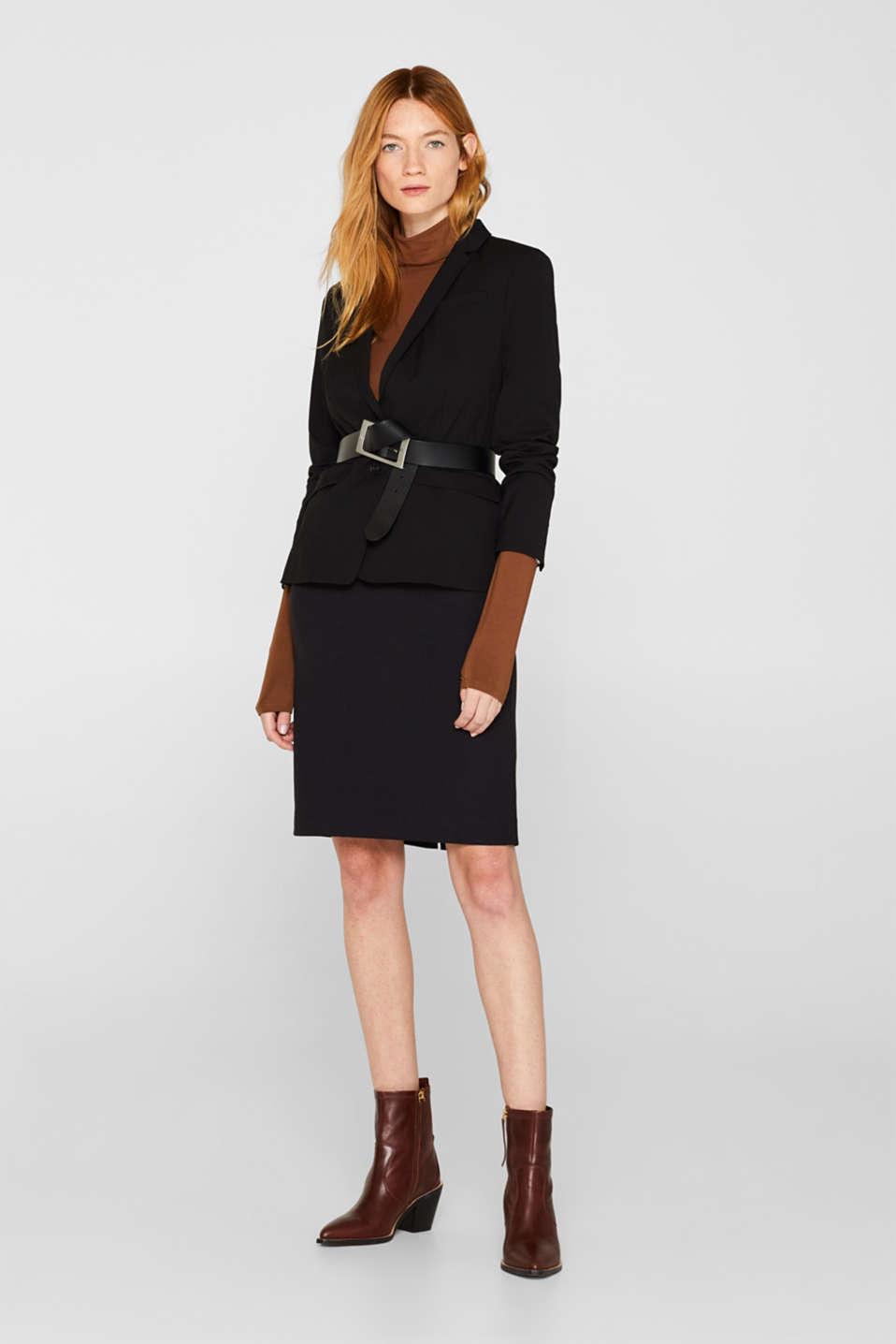 Fashion Skirt, BLACK, detail image number 1
