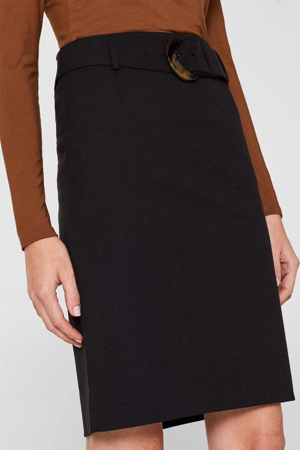 Fashion Skirt, BLACK, detail image number 2