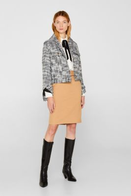 Fashion Skirt, CAMEL, detail