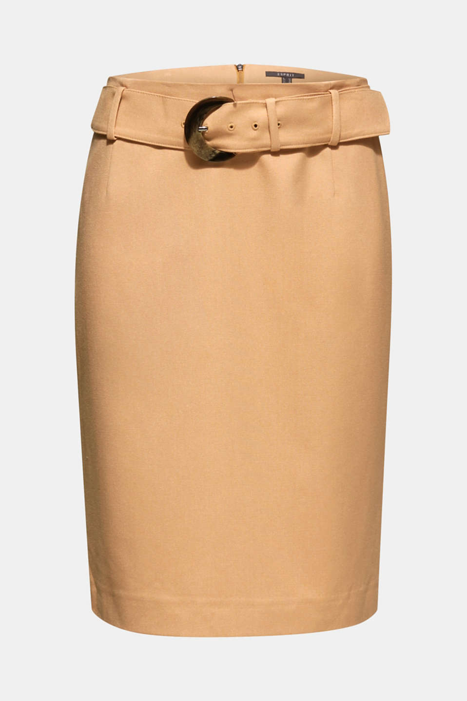 Fashion Skirt, CAMEL, detail image number 6
