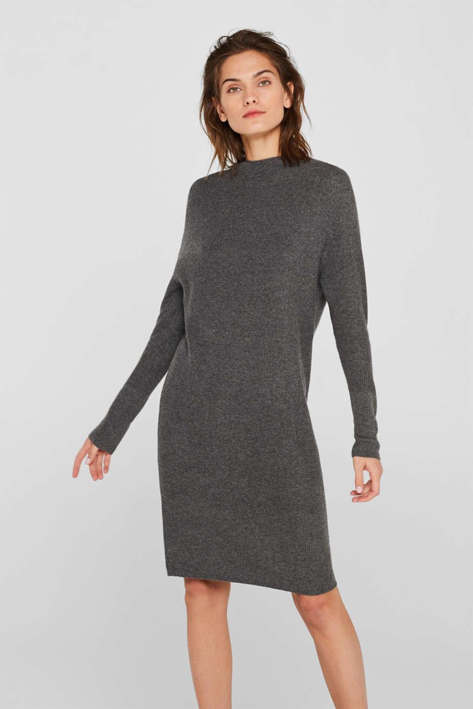 Dresses flat knitted, GUNMETAL 5, detail image number 0