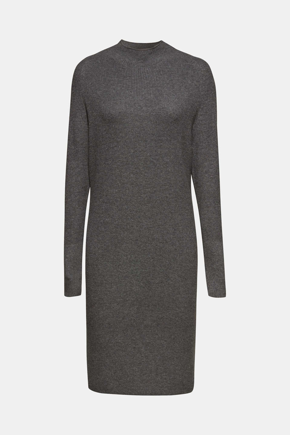 Dresses flat knitted, GUNMETAL 5, detail image number 6