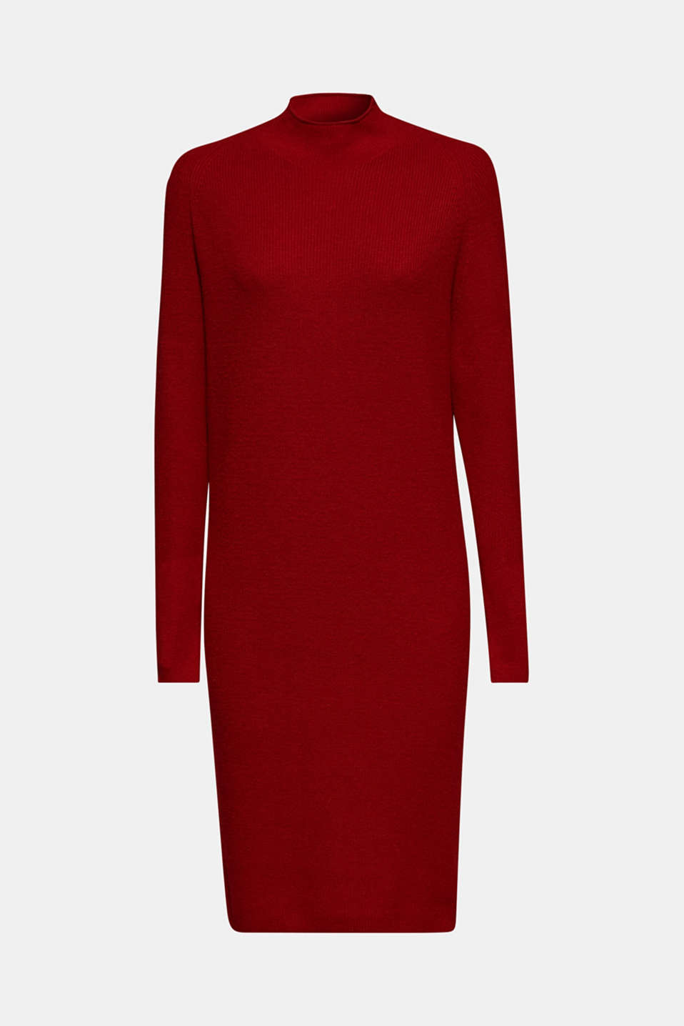 Dresses flat knitted, DARK RED, detail image number 7
