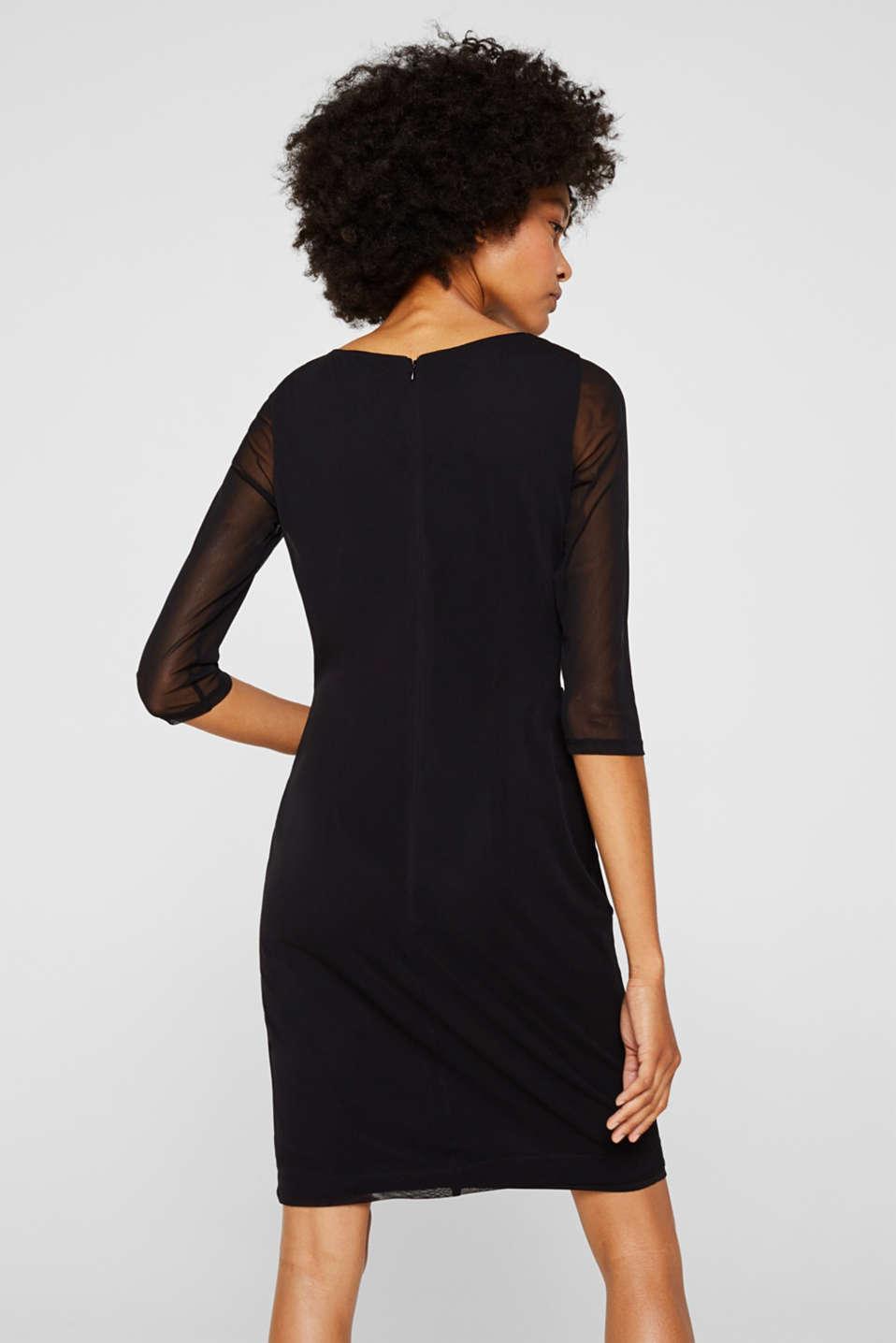Dresses knitted, BLACK, detail image number 2