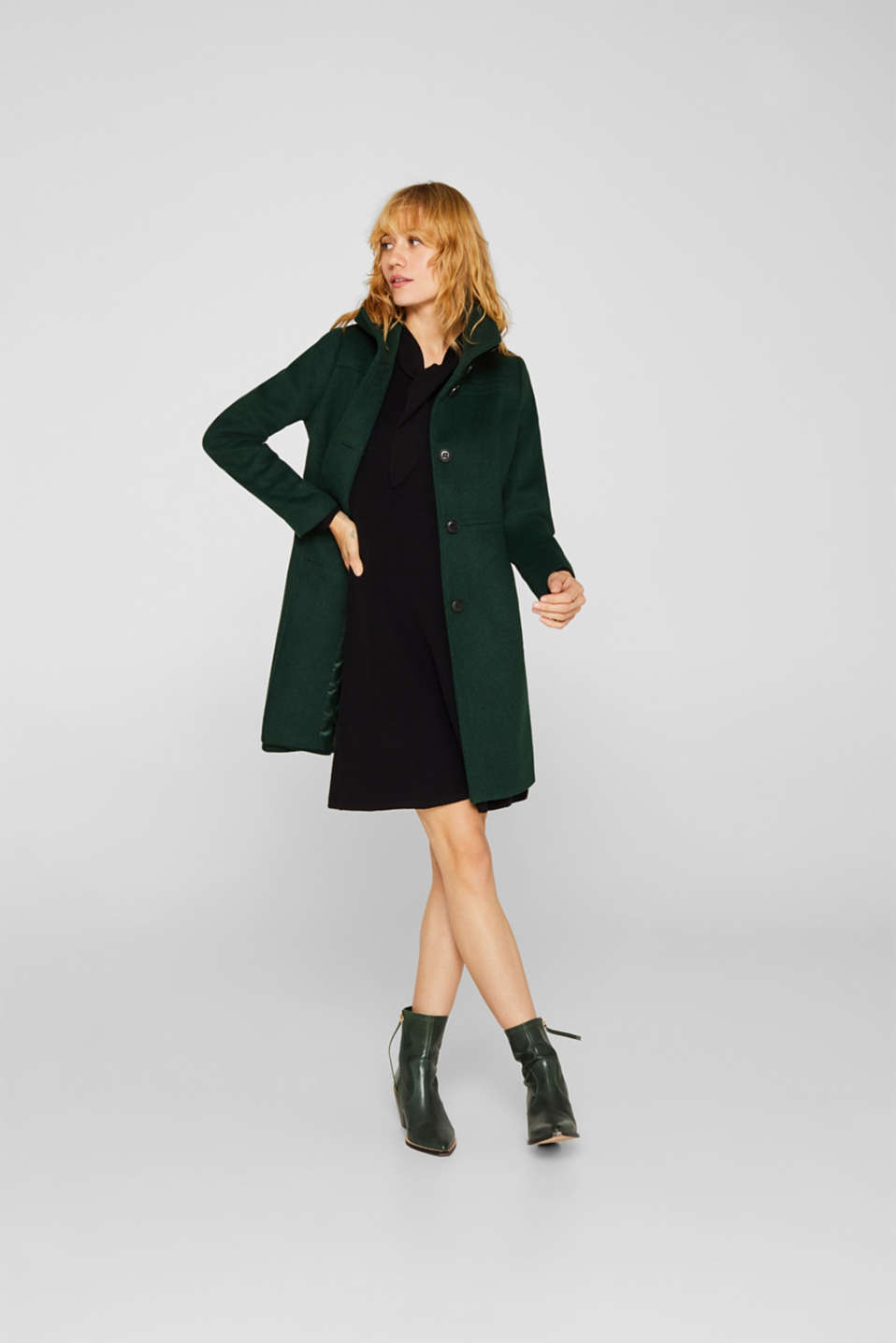 Dresses flat knitted, BLACK, detail image number 1