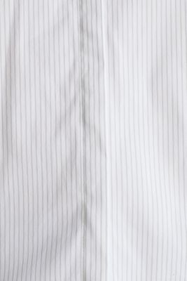Striped business blouse, OFF WHITE, detail