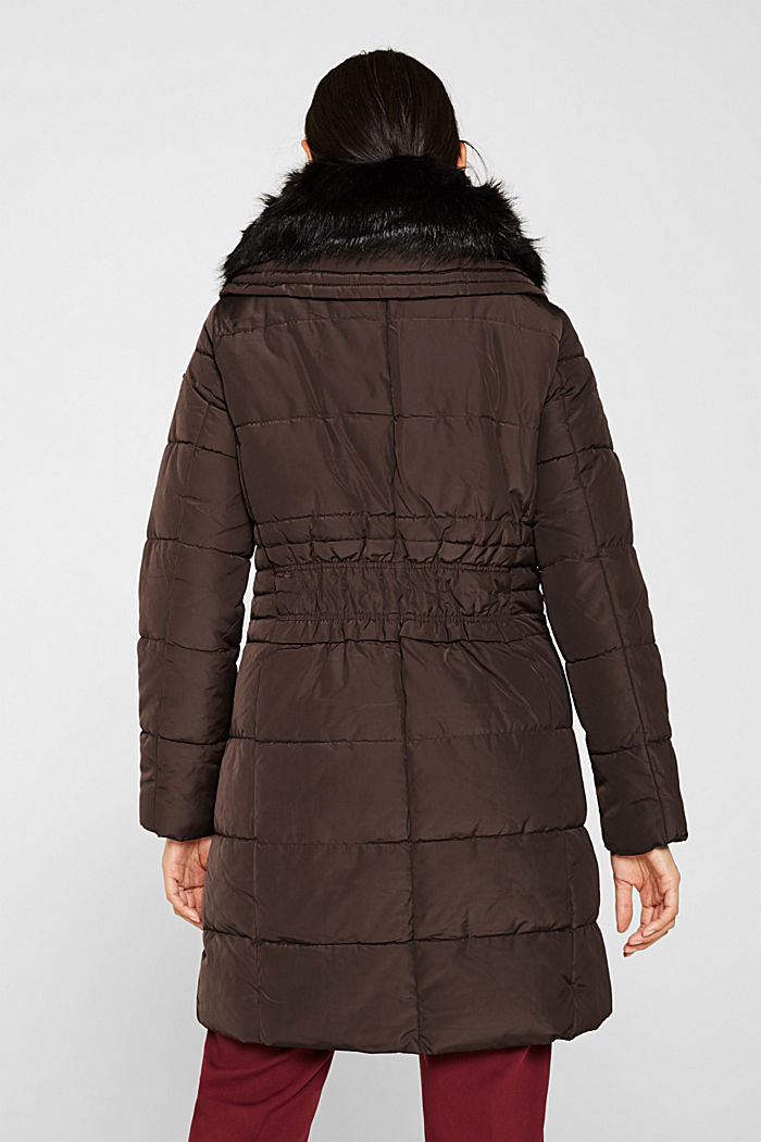 Quilted coat with 3M™ Thinsulate™ padding, BORDEAUX RED, detail image number 3