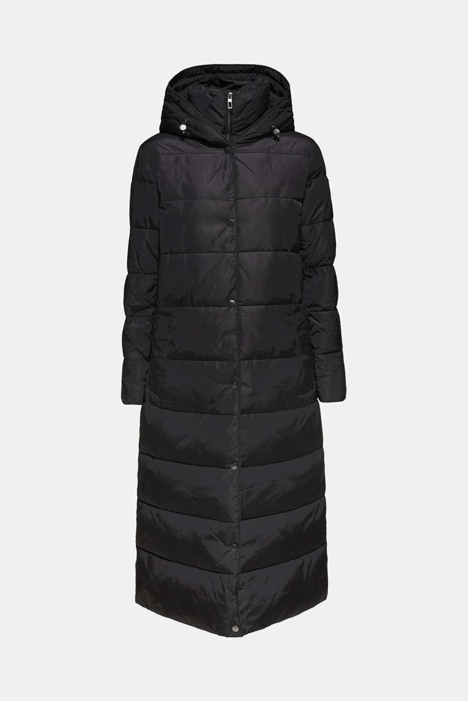 Coats woven, BLACK, detail image number 7