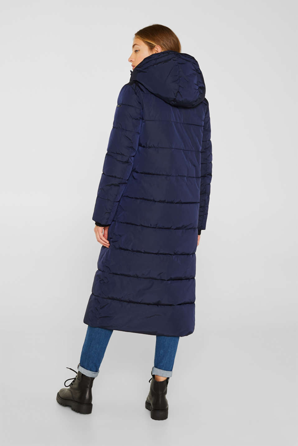 Quilted coat with 3M™ Thinsulate™ technology, NAVY, detail image number 3