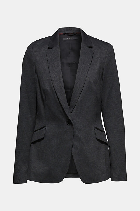 MINI CHECK mix + match stretch blazer