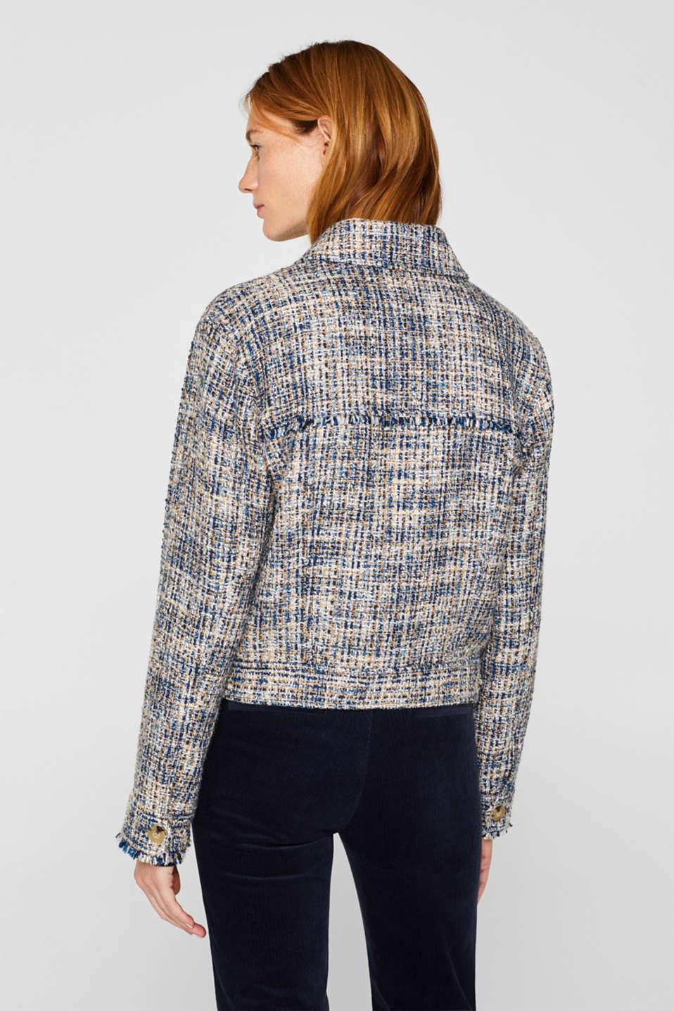 Jackets indoor woven, NAVY, detail image number 3