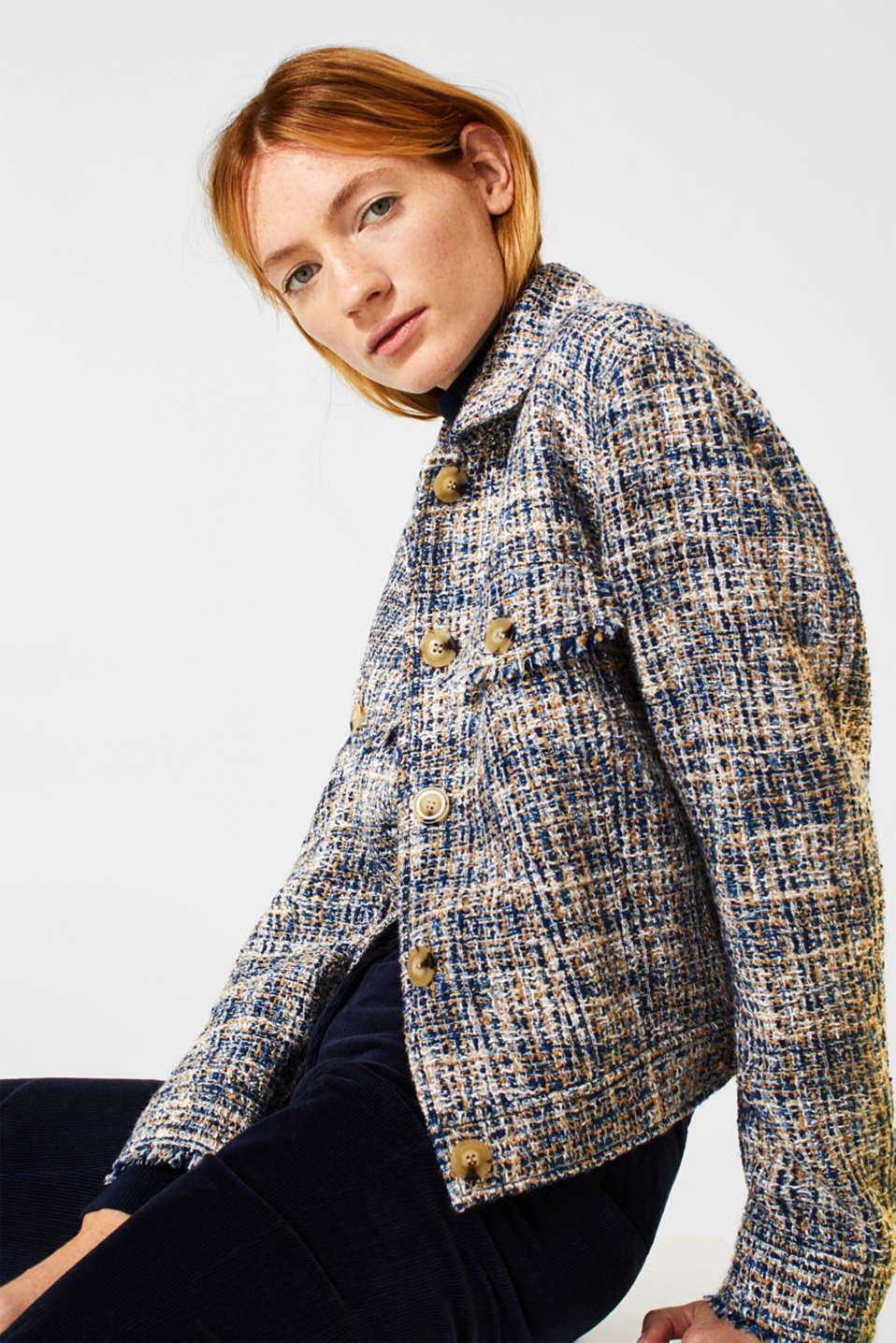 Jackets indoor woven, NAVY, detail image number 5
