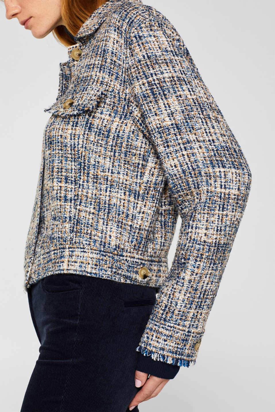 Jackets indoor woven, NAVY, detail image number 2