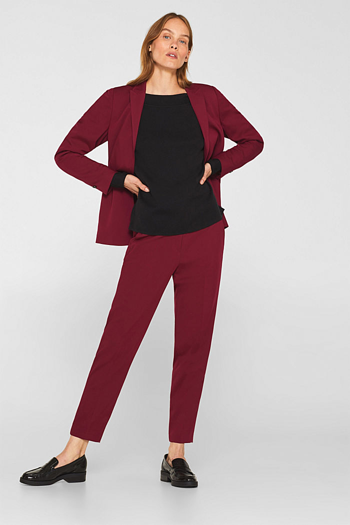 Stretch jumper with batwing sleeves, BLACK, detail image number 1