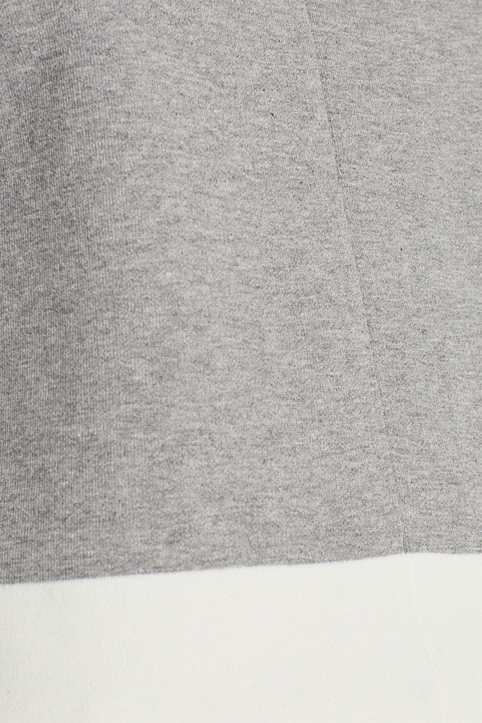 Stretch jumper with batwing sleeves, NEW GREY, detail image number 4