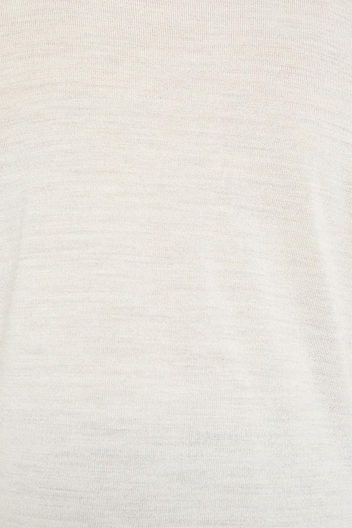 Mit Merinowolle: Pullover mit Rollkragen, ICE, detail image number 4