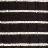 With wool: lightweight striped jumper, BLACK, swatch