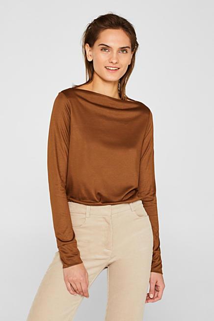 zu verkaufen Modestil Kauf echt T-Shirts & Langarmshirts für Damen im Online Shop | ESPRIT