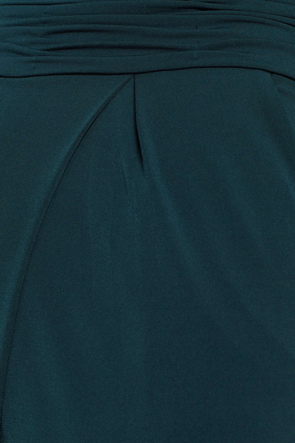 Overalls knitted, DARK TEAL GREEN, detail image number 3