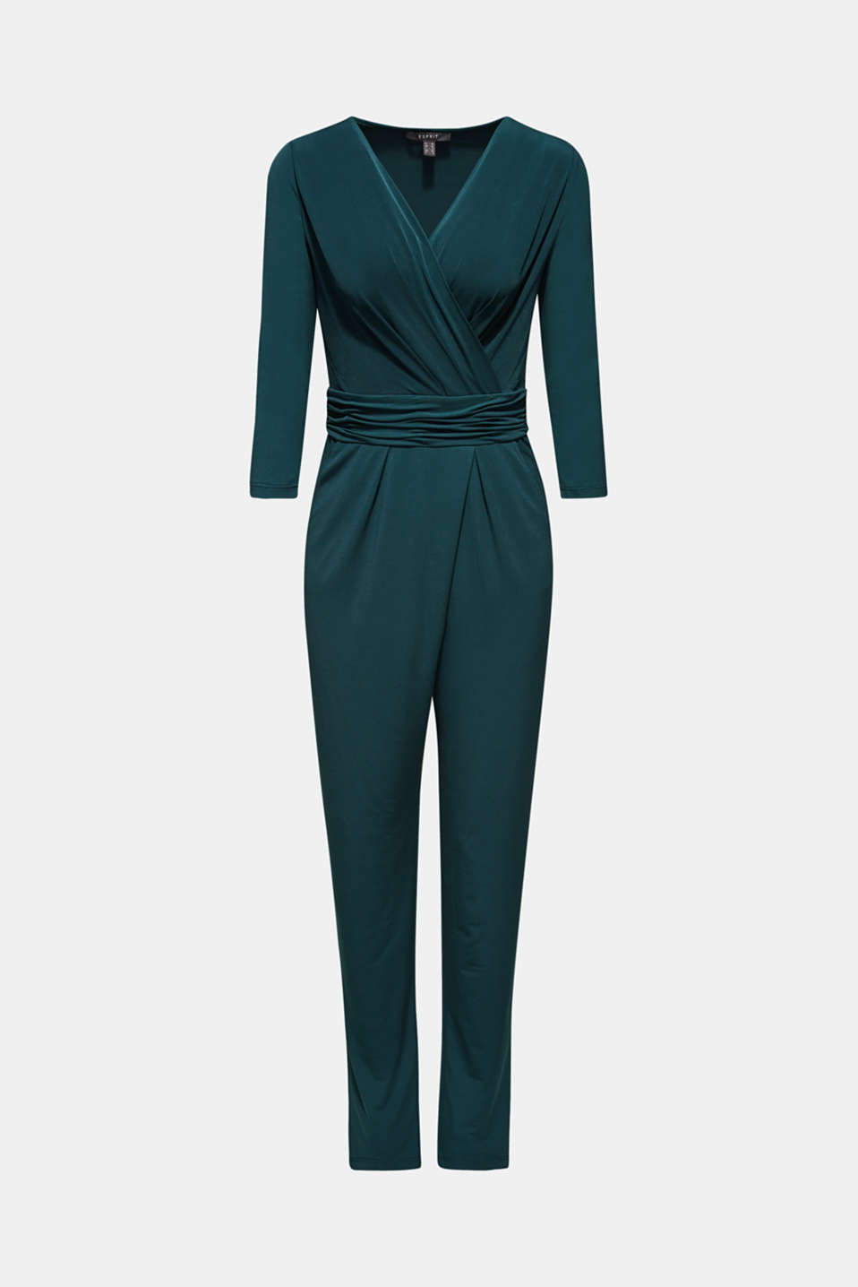 Overalls knitted, DARK TEAL GREEN, detail image number 4