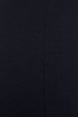 Soft jersey stretch trousers with TENCEL™, NAVY, detail