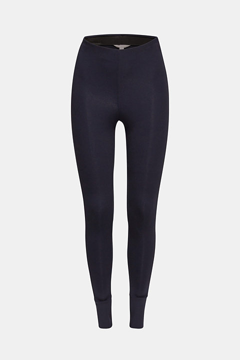 Soft jersey stretch trousers with TENCEL™
