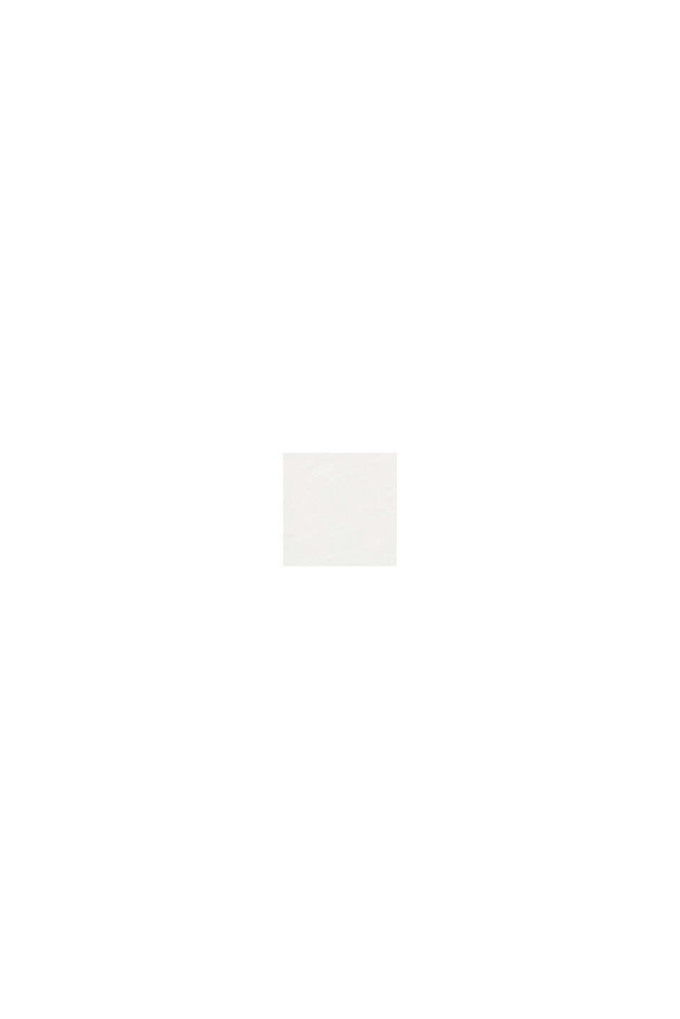 Maglia a maniche lunghe con scollo ampio, OFF WHITE, swatch