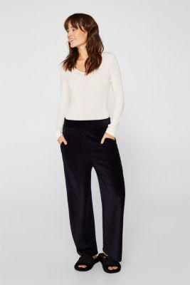 With TENCEL™: stretch jersey body, OFF WHITE, detail